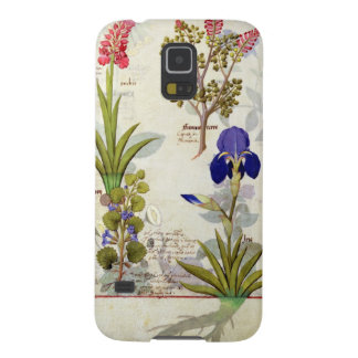 Orchid & Fumitory or Bleeding Heart Hedera & Iris Case For Galaxy S5