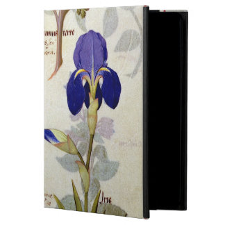 Orchid & Fumitory or Bleeding Heart Hedera & Iris iPad Air Cases