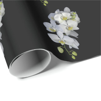 Orchid Garland Wrapping Paper