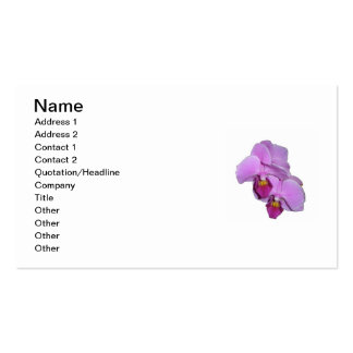 Orchid Grower's Business Card