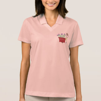 Orchid Growing Polo Shirt