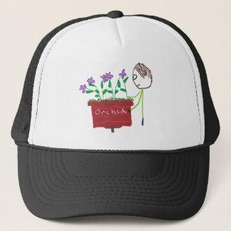 Orchid Growing Trucker Hat