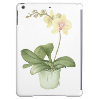 Orchid in a Green Pot Watercolour iPad Air Case