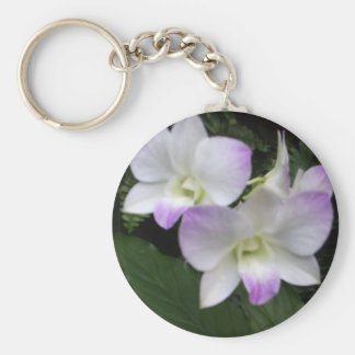 Orchid Love Keychain