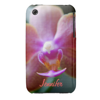Orchid Macro Photography iPhone 3 Cover