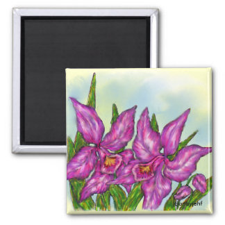 Orchid magnetic magnet