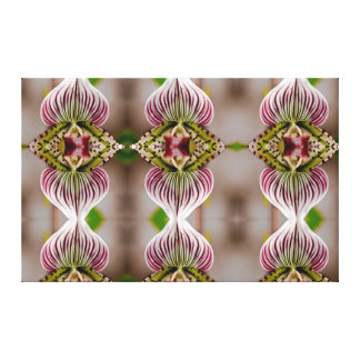 Orchid Mirror Canvas Print