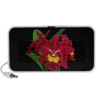 Orchid Oil on Canvas Mini Speakers