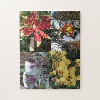 Orchid Photo 11x14 Photo Puzzle with Gift Box