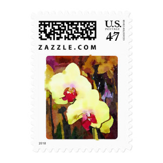 Orchid Postage Stamps - all Options