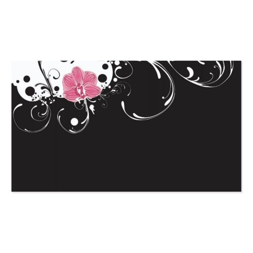 Orchid Profile Card Pack Of Standard Business Cards