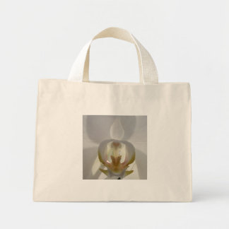 Orchid shopping bag