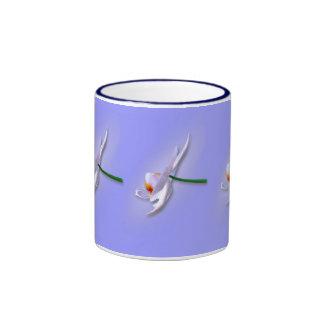 Orchid side ringer mug