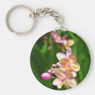 Orchidaceae Keychain