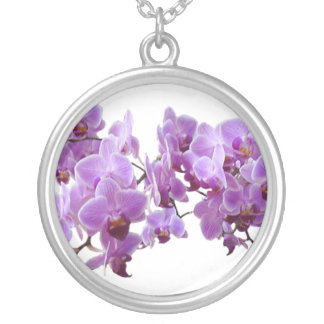 Orchidea Silver Plated Necklace