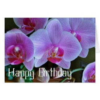 Orchidee-Happy B Grusskarte Grußkarten
