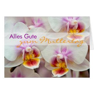 Orchidee • Muttertagskarte Cards