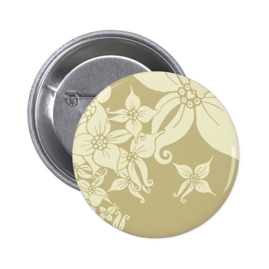 Orchids 6 Cm Round Badge