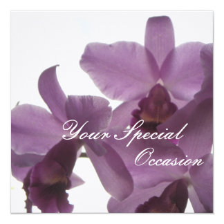 Orchids/ All-Occasion Personalized Invites