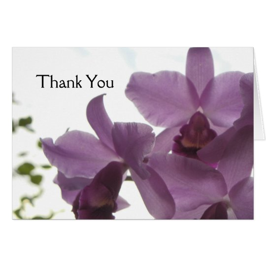 Orchids All-Purpose Greeting/Invitation Card