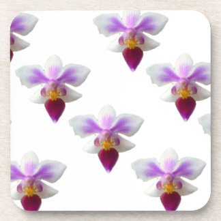 Orchids Beverage Coasters