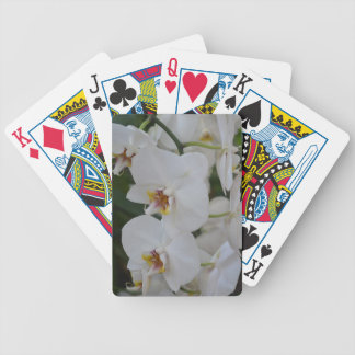 Orchids Bicycle Playing Cards