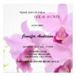 Orchids Bridal-Wedding Shower or Birthday Invites