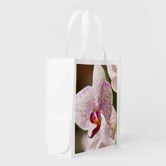 Orchids by Shirley Taylor Reusable Grocery Bag