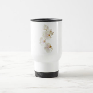 Orchids Flowers Travel Mug