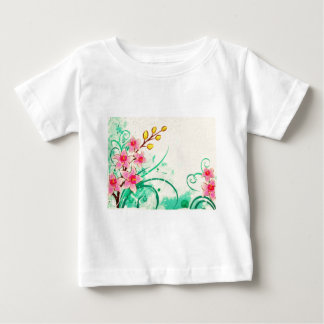 orchids grunge floral 3 shirts