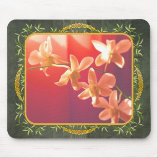 Orchids in the Sun Mouse Pads