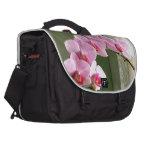 Orchids Laptop Messenger Bag