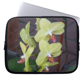 Orchids Laptop Computer Sleeves