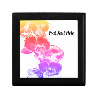 Orchids Personalized Gift Box
