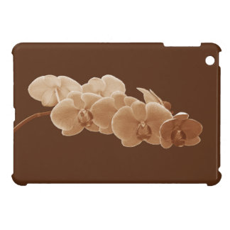 Orchids Photo to Paint in Sepia II iPad Mini Covers