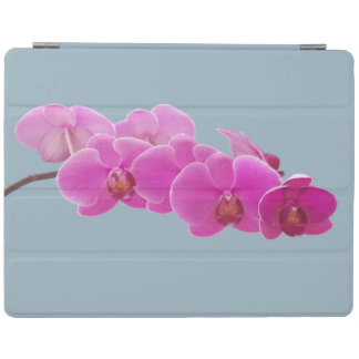 Orchids Photo to Paint on Blue II iPad Cover