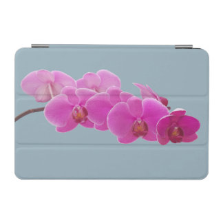 Orchids Photo to Paint on Blue II iPad Mini Cover