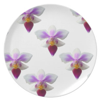 Orchids Plate
