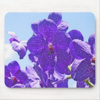 Orchids Purple/Blue Mouse Mat