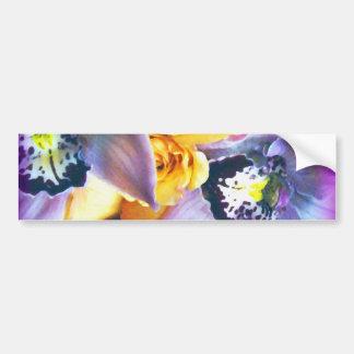 Orchids & Roses_ Bumper Sticker