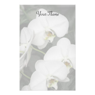 Orchids stationary stationery design