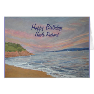 Orcombe Point Exmouth Devon UK Greeting Card