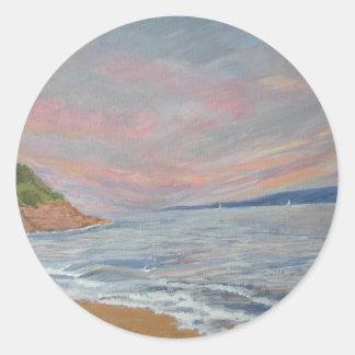 Orcombe Point Exmouth Devon UK Sticker