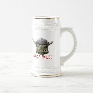 Orcs Rule! Beer Steins