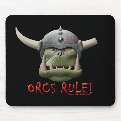 Orcs Rule! Mouse Mat