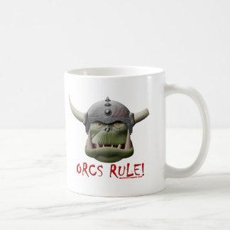 Orcs Rule Coffee Mugs