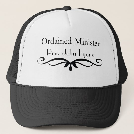 ORDAINED MINISTER GIFTS CAP