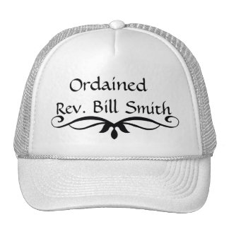 Ordained Minister Hat