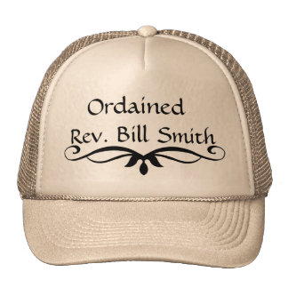 Ordained Minister Hat GIFT