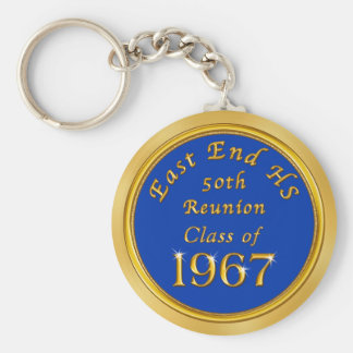 Order Class Reunion Souvenirs in Your Text, Colors Key Ring